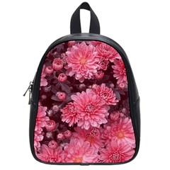 Awesome Flowers Red School Bags (small)  by MoreColorsinLife