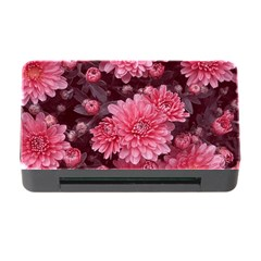 Awesome Flowers Red Memory Card Reader With Cf by MoreColorsinLife