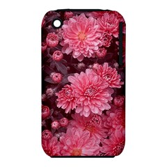 Awesome Flowers Red Apple Iphone 3g/3gs Hardshell Case (pc+silicone)