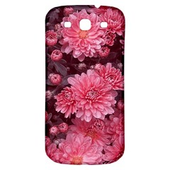 Awesome Flowers Red Samsung Galaxy S3 S Iii Classic Hardshell Back Case