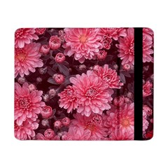 Awesome Flowers Red Samsung Galaxy Tab Pro 8 4  Flip Case by MoreColorsinLife