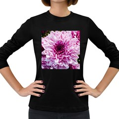 Wonderful Flowers Women s Long Sleeve Dark T Shirts by MoreColorsinLife