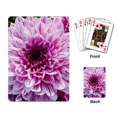 Wonderful Flowers Playing Card