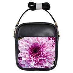Wonderful Flowers Girls Sling Bags