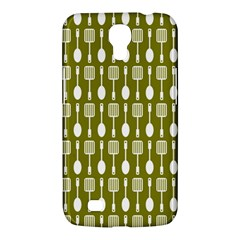 Olive Green Spatula Spoon Pattern Samsung Galaxy Mega 6 3  I9200 Hardshell Case by creativemom