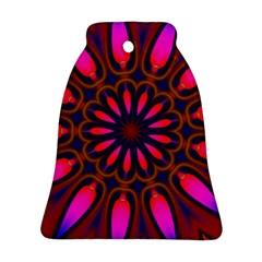 Kaleido Fun 06 Bell Ornament (2 Sides) by MoreColorsinLife