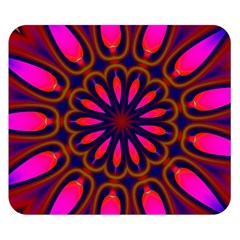 Kaleido Fun 06 Double Sided Flano Blanket (small)  by MoreColorsinLife