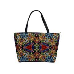 Magnificent Kaleido Design Shoulder Handbags by MoreColorsinLife
