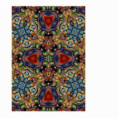Magnificent Kaleido Design Large Garden Flag (two Sides) by MoreColorsinLife