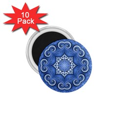 Awesome Kaleido 07 Blue 1.75  Magnets (10 pack)  by MoreColorsinLife