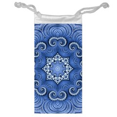 Awesome Kaleido 07 Blue Jewelry Bags by MoreColorsinLife