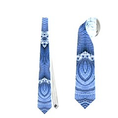 Awesome Kaleido 07 Blue Neckties (two Side)  by MoreColorsinLife