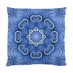 Awesome Kaleido 07 Blue Standard Cushion Cases (two Sides)  by MoreColorsinLife