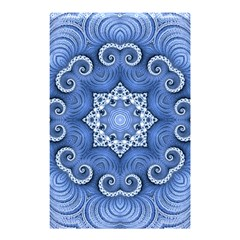Awesome Kaleido 07 Blue Shower Curtain 48  X 72  (small)  by MoreColorsinLife