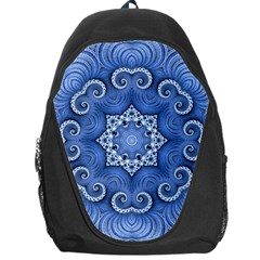 Awesome Kaleido 07 Blue Backpack Bag by MoreColorsinLife
