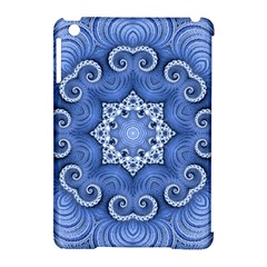 Awesome Kaleido 07 Blue Apple Ipad Mini Hardshell Case (compatible With Smart Cover) by MoreColorsinLife
