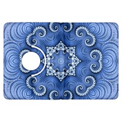 Awesome Kaleido 07 Blue Kindle Fire Hdx Flip 360 Case by MoreColorsinLife