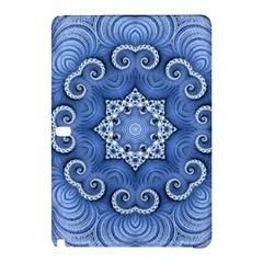 Awesome Kaleido 07 Blue Samsung Galaxy Tab Pro 10 1 Hardshell Case by MoreColorsinLife
