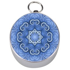 Awesome Kaleido 07 Blue Silver Compasses by MoreColorsinLife