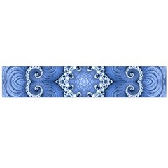Awesome Kaleido 07 Blue Flano Scarf (large)  by MoreColorsinLife