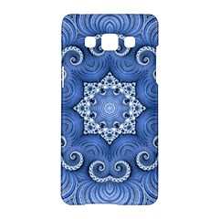 Awesome Kaleido 07 Blue Samsung Galaxy A5 Hardshell Case  by MoreColorsinLife