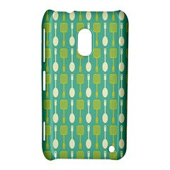 Spatula Spoon Pattern Nokia Lumia 620 by creativemom