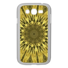 Kaleido Flower,golden Samsung Galaxy Grand Duos I9082 Case (white) by MoreColorsinLife