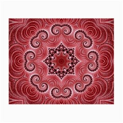 Awesome Kaleido 07 Red Small Glasses Cloth by MoreColorsinLife