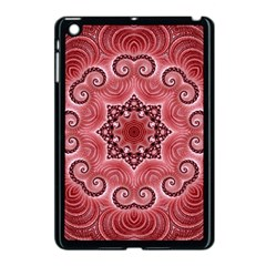 Awesome Kaleido 07 Red Apple Ipad Mini Case (black) by MoreColorsinLife