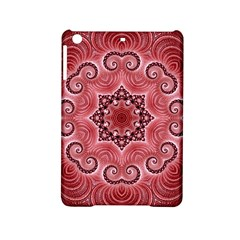 Awesome Kaleido 07 Red Ipad Mini 2 Hardshell Cases by MoreColorsinLife