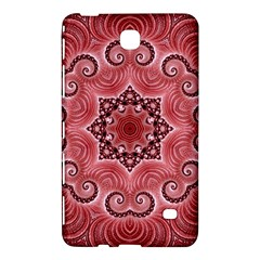 Awesome Kaleido 07 Red Samsung Galaxy Tab 4 (7 ) Hardshell Case  by MoreColorsinLife