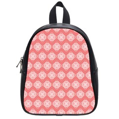 Abstract Knot Geometric Tile Pattern School Bags (small)  by creativemom