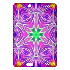 Kaleido Art, Pink Fractal Kindle Fire Hd (2013) Hardshell Case by MoreColorsinLife