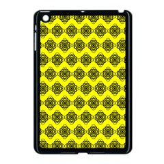 Abstract Knot Geometric Tile Pattern Apple Ipad Mini Case (black) by creativemom
