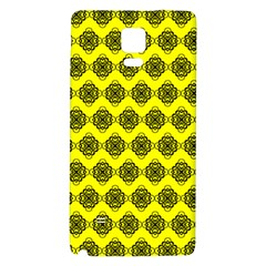 Abstract Knot Geometric Tile Pattern Galaxy Note 4 Back Case by creativemom