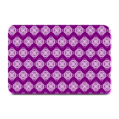 Abstract Knot Geometric Tile Pattern Plate Mats by creativemom