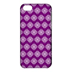 Abstract Knot Geometric Tile Pattern Apple Iphone 5c Hardshell Case by creativemom