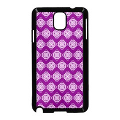 Abstract Knot Geometric Tile Pattern Samsung Galaxy Note 3 Neo Hardshell Case (black) by creativemom