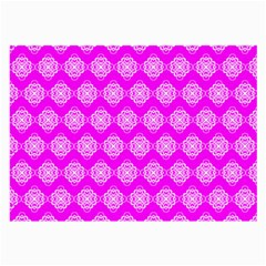 Abstract Knot Geometric Tile Pattern Large Glasses Cloth (2 Side) by creativemom