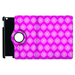 Abstract Knot Geometric Tile Pattern Apple Ipad 3/4 Flip 360 Case by creativemom