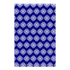 Abstract Knot Geometric Tile Pattern Shower Curtain 48  X 72  (small)  by creativemom