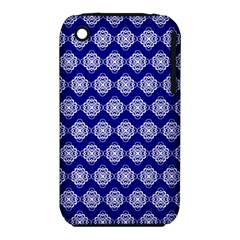 Abstract Knot Geometric Tile Pattern Apple Iphone 3g/3gs Hardshell Case (pc+silicone) by creativemom