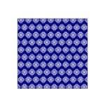 Abstract Knot Geometric Tile Pattern Satin Bandana Scarf