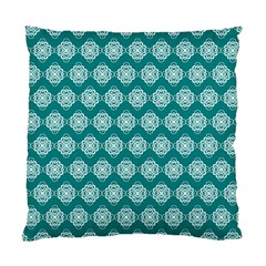 Abstract Knot Geometric Tile Pattern Standard Cushion Case (one Side)  by creativemom