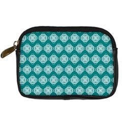 Abstract Knot Geometric Tile Pattern Digital Camera Cases by creativemom
