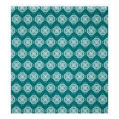 Abstract Knot Geometric Tile Pattern Shower Curtain 66  X 72  (large)  by creativemom