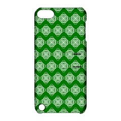 Abstract Knot Geometric Tile Pattern Apple iPod Touch 5 Hardshell Case with Stand by creativemom