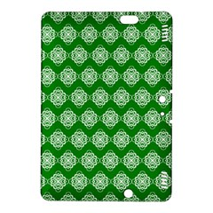 Abstract Knot Geometric Tile Pattern Kindle Fire Hdx 8 9  Hardshell Case by creativemom
