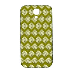 Abstract Knot Geometric Tile Pattern Samsung Galaxy S4 I9500/i9505  Hardshell Back Case by creativemom