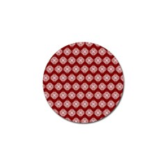 Abstract Knot Geometric Tile Pattern Golf Ball Marker (4 Pack) by creativemom